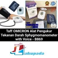 Sphygmomanometer Alat Pengukur Tekanan Darah with Voice - Tensimeter