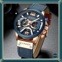 Jam Tangan Pria CURREN 8329 Original Garansi Resmi 1Tahun - Biru