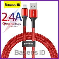 Baseus Kabel LED Halo Lightning Cable Data iPhone Apple Fast Charging
