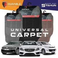 Xenia Sigra Luxio Grand Max Trooper Karpet Mobil PVC 3pcs Durable
