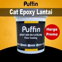 Cat Lantai Epoxy Puffin Semi Self Leveling 20kg set