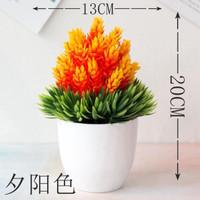Bunga Artificial Pinus plastik