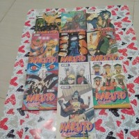 Paket 10pcs Komik Naruto 41-50