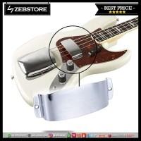 Cover Pelindung Protektor Pickup Jazz Bass Chrome