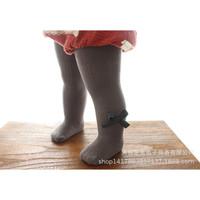 Celana Legging Anak / Legging Bayi Perempuan / Legging Anak Impor - 0-2 Tahun, Abu Hijau Pita