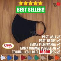 Masker Sritex Warna Premium Earloop Kain Non Medis Original Anti Air