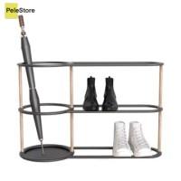 Krisbow Turbular Rak Payung Dan Sepatu 78x30x47.5 Cm