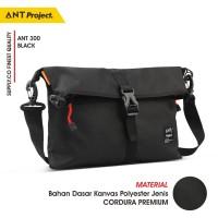 ANT PROJECT - Tas Selempang Messenger Sekolah Kuliah Kerja ANT300 - Gantungan Kunci