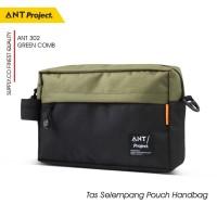 ANT PROJECT - Tas Selempang Pouch ANT302 Tas Handbag Distro / Vape Bag - Gantungan Kunci