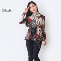 Atasan Batik Blouse Batik Modern Wanita 605 JY