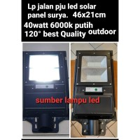 lampu pju solar cell panel surya 40watt 40w streetlight 40 watt 40 w