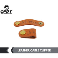 cable clip penjepit kabel rem shifter Brompton pikes folding bike - Hitam
