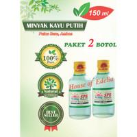 Minyak Kayu Putih SPB 150 ml (Paket hemat 2 botol)