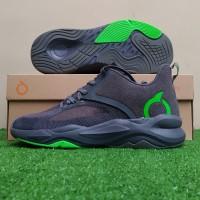 Sepatu Running Sneakers Ortuseight Genzo - Light Grey/Lawn Green