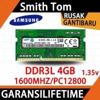 Ram Laptop Samsung SODIMM 4GB DDR3L PCL12800/ DDR3L-1600 4G Sodim