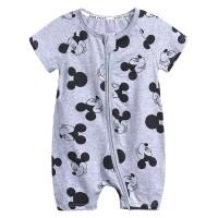 Baby Romper Motif Grey Mickey KIDS TALES - 12-18 Bulan