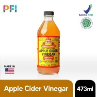 BRAGG Apple Cider Vinegar ( Cuka Apel) 473ML