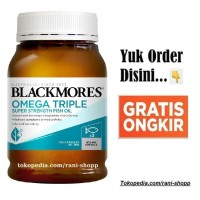 Blackmores Omega Triple Concentrated Fish Oil 150 Odourless Odourles