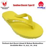 Sandal Swallow Original Tipe 07 - Kuning (Size 9 - 10.5)