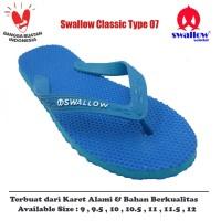 Sandal Swallow Original Tipe 07 - Biru (Size 9 - 12)