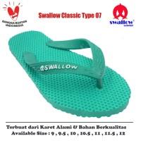 Sandal Swallow Original Tipe 07 - Hijau (Size 9 - 12)