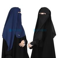 Niqab Saudi Alsyahra Exclusive Wolfis Premium Size L