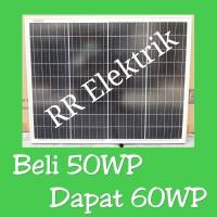 Solar Panel / Solar Cell / Panel Surya GH 50wp Mono