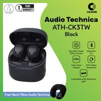 Audio Technica ATH-CK3TW Bluetooth 5.0 APTX TWS In Ear Earphone