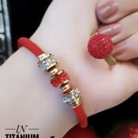 titanium gelang cincin 23y22