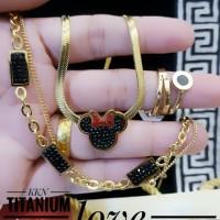 titanium set perhiasan 23y50