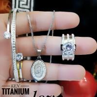 titanium set perhiasan 23y16