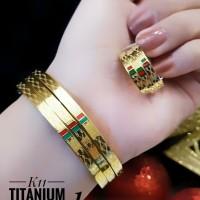 titanium gelang cincin 23y21