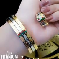 titanium gelang cincin 23y25