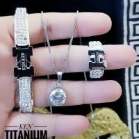 titanium set perhiasan 23y18