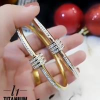 titanium gelang wanita 23y31
