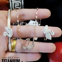 titanium set perhiasan 23y17