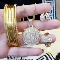 xuping set perhiasan wanita 23y43