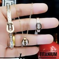 titanium set perhiasan 23y4