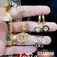 titanium set perhiasan 23y11
