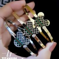 titanium gelang wanita 23y36