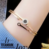 titanium gelang wanita 23y32