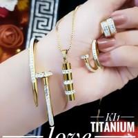 titanium set perhiasan 23y5