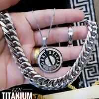 titanium set perhiasan 23y6