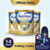 Paket 3 - Nutrilon Royal 3 Susu Pertumbuhan 1-3 Thn Vanila 800gr