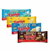 Wafer Tango 4 Rasa : Bubble Gum, Chocolate, Vanilla Milk, Cheese 130gr