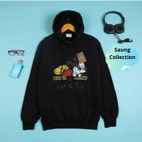 Jaket Sweater Hoodie gucci mickey mouse Import Premium Quality