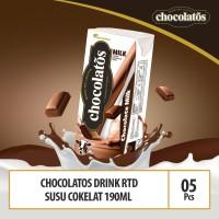Chocolatos Drink RTD Chocolate Milk - 190 ml x 5 Pcs
