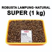 Kopi bubuk Robusta LAMPUNG / Biji Kopi Piko Super 1 Kg