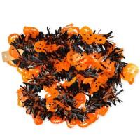 Scoop Dekorasi Halloween Tinsel Hitam Oranye Labu 59580301