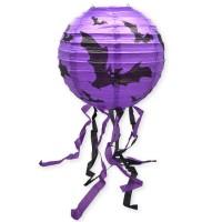 Scoop Dekorasi Halloween Lampion Ungu 8 Inch 53331703